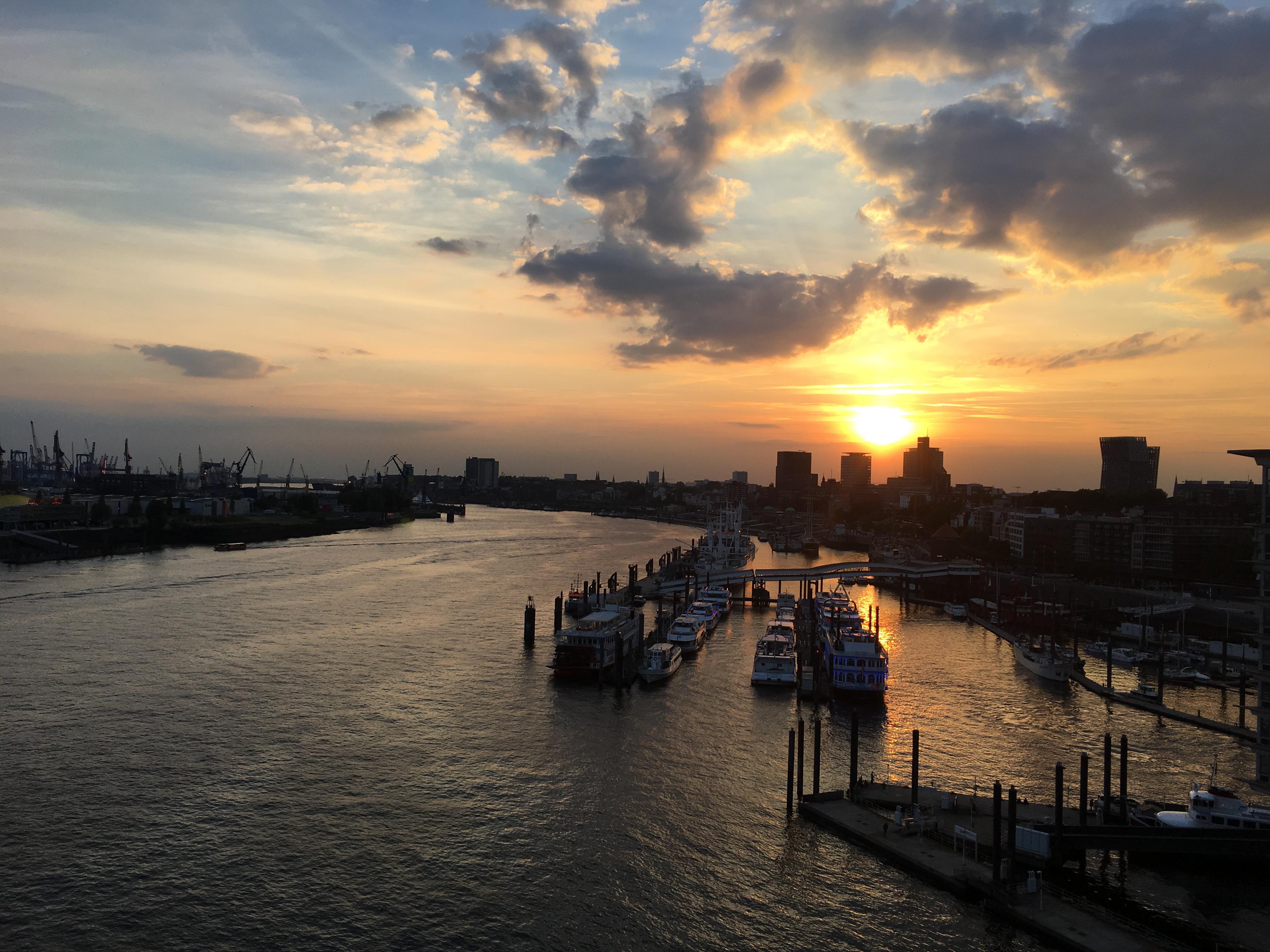 Uitkijkpunten in Hamburg, Elbphilharmonie | foto door Pierre de Sable